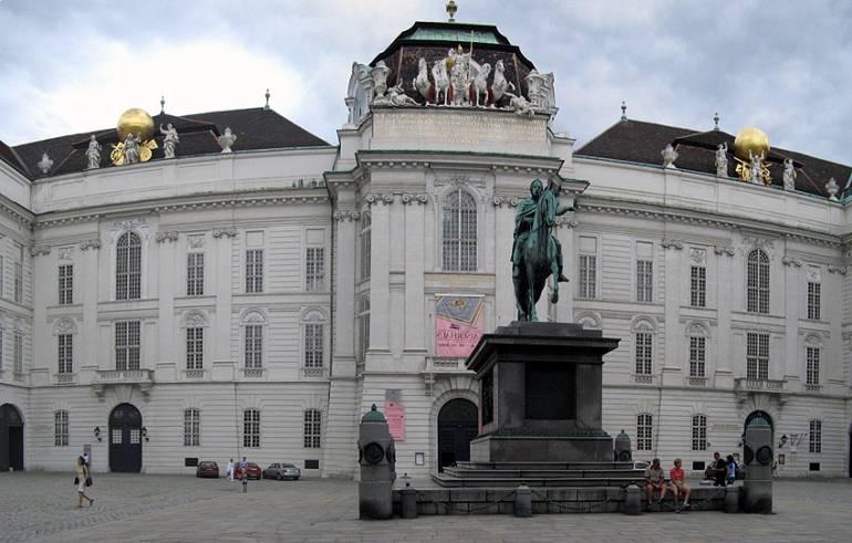 Достопримечательности Вены - площадь йозефплац