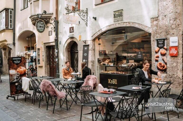Кафе Штрудель в Инсбруке