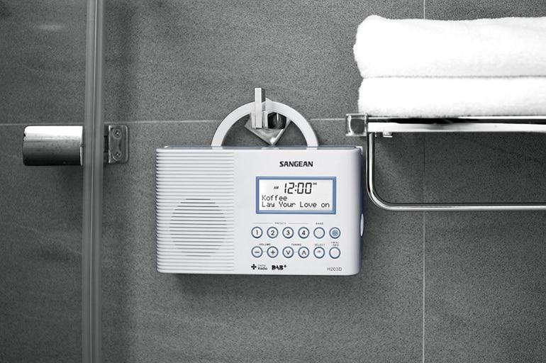 Радио для ванной комнаты