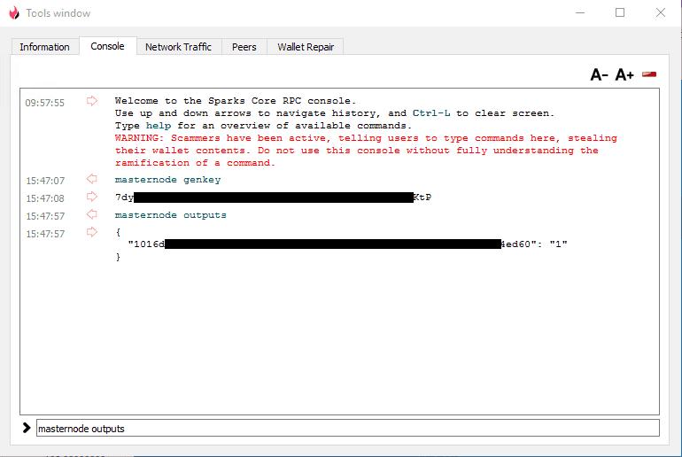 Sparkspay Masternode Setup - Windows VPS