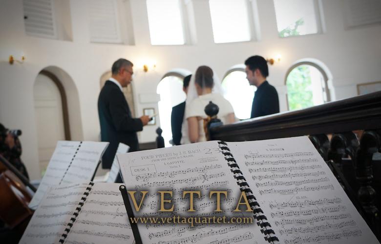 Music Wedding - Singapore Quartet - Armenrian Church