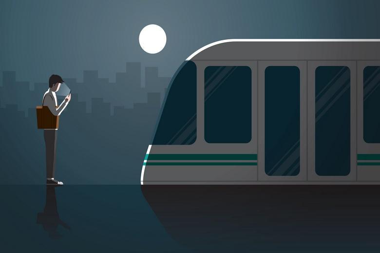 Ночные поезда в Германии Фото: Автор: kora_sun / shutterstock.com