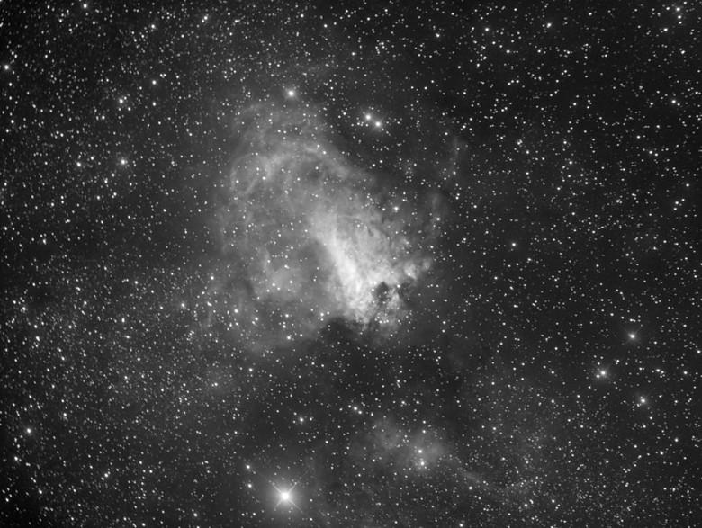 La nébuleuse du Cygne dans le Sagittaire