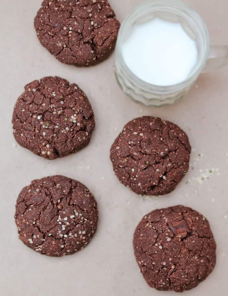 Hemp_chocolate_breakfast_cookies