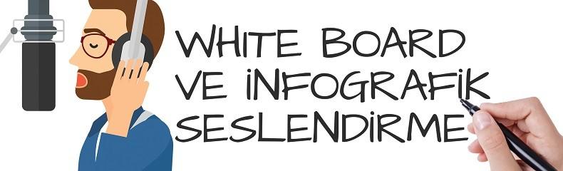 Whiteboard ve İnfografik Seslendirme