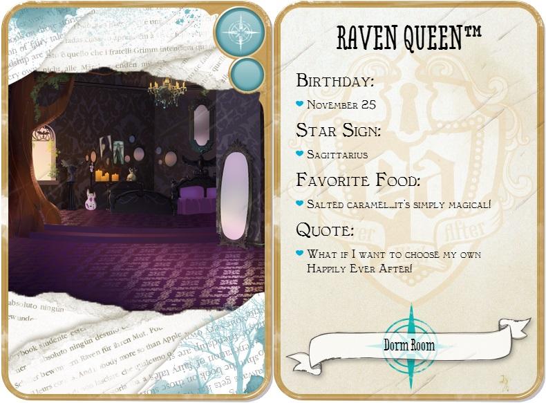 raven queen habitacion