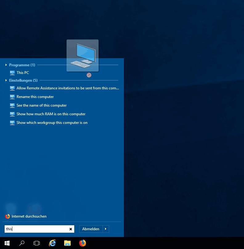 Masternode Vorbereitung - Windows Explorer auf Desktop ziehen