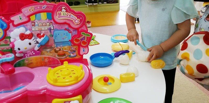 軽井沢おもちゃ王国0歳でもおもちゃの部屋