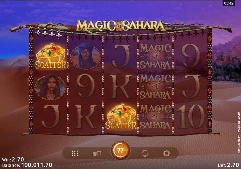 Magic of Sahara Slot Wilds