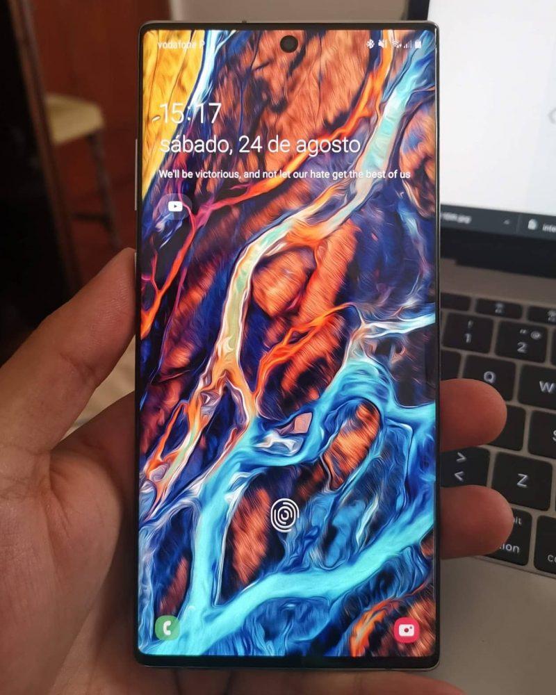 Note 10 ecrã, Análise Note 10