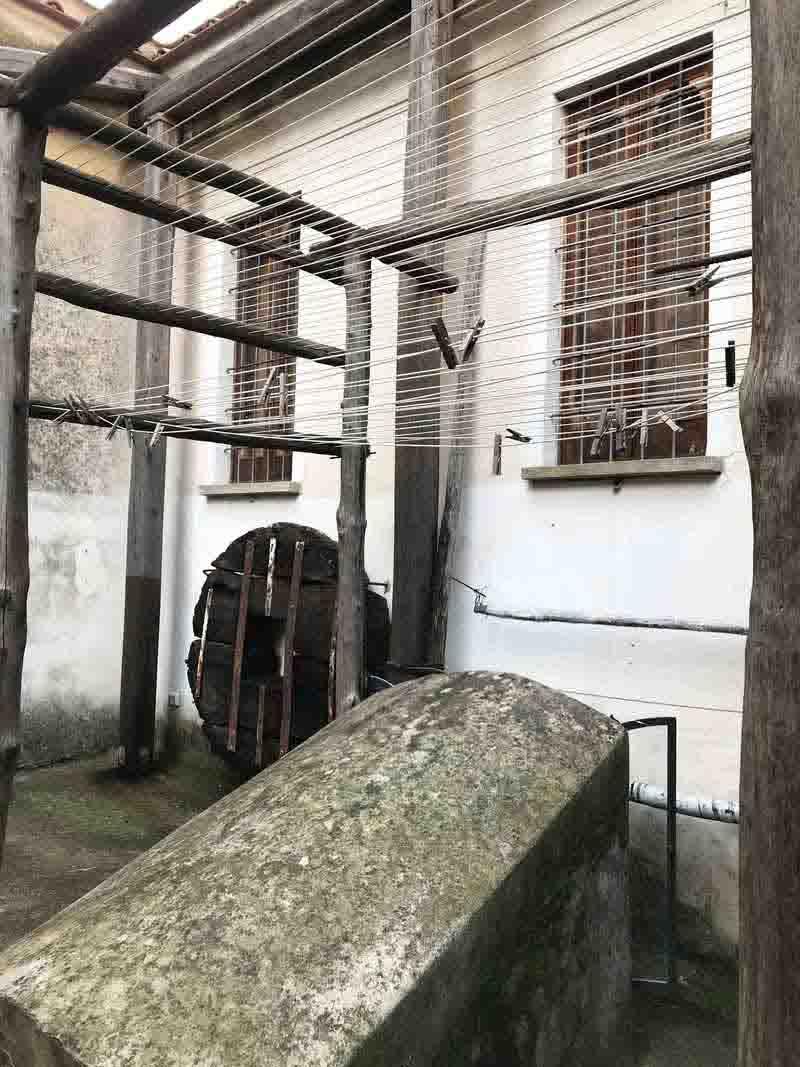 Amalfi Museo della Carta spanditoio per asciugatura