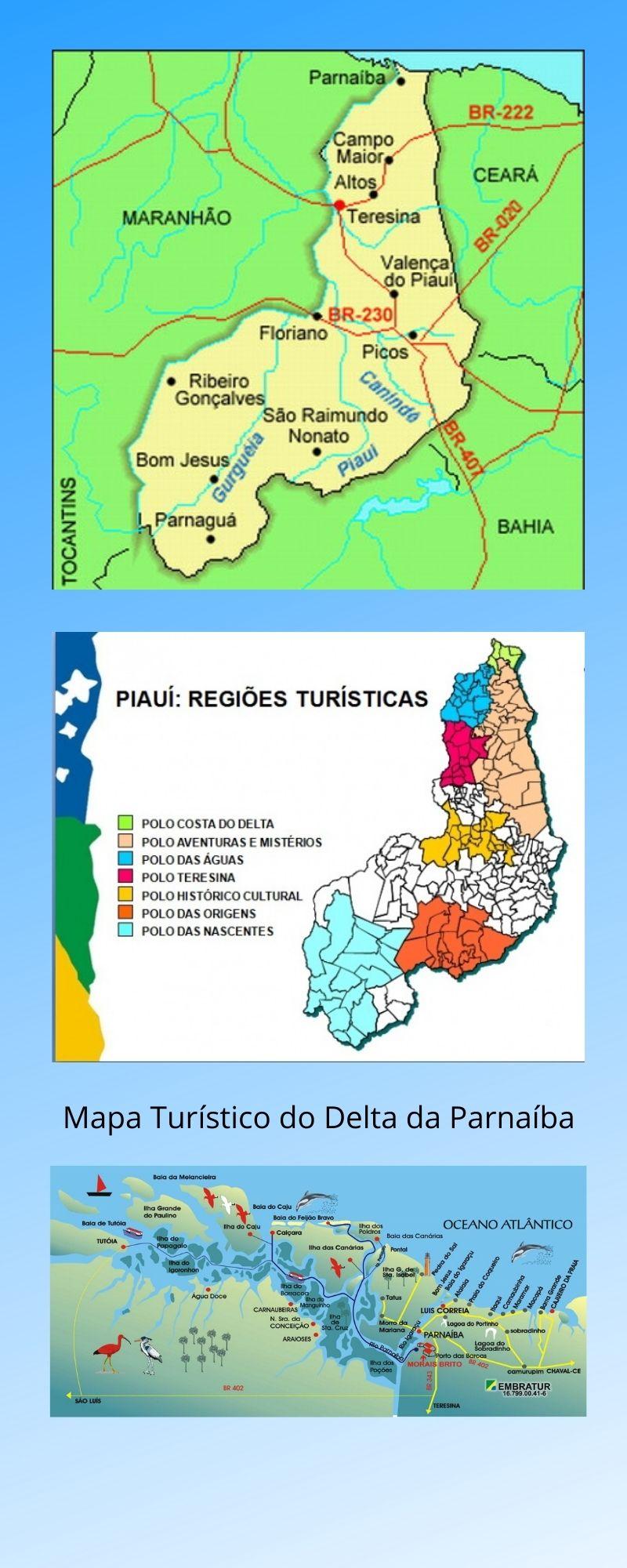 Infográfico Atrações Turísticas do Piauí 2