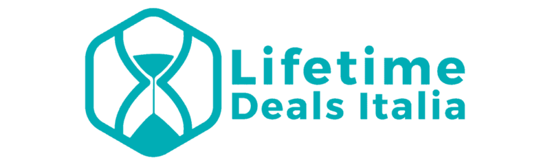 Lifetime Deals Italia - Logo e Testo - Transparent Background