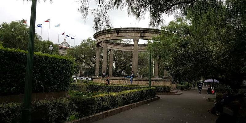 Parque Centro America in Xela Guatemala