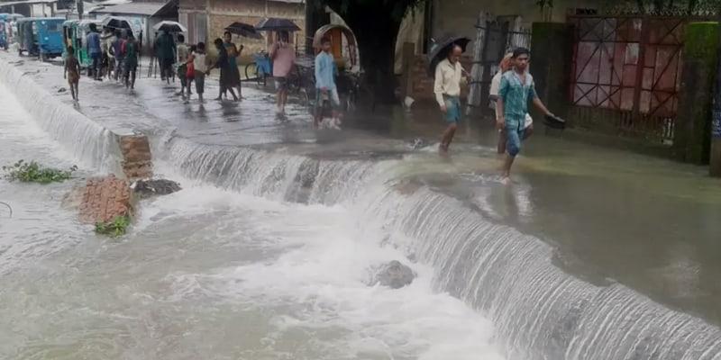 Flood Situation In Sunamganj Worsening