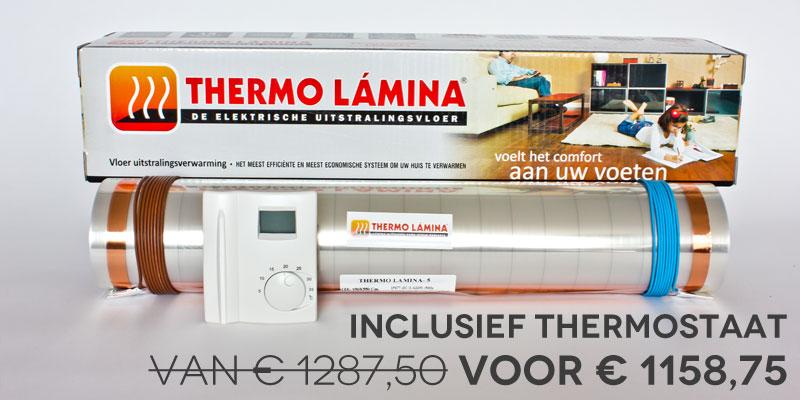 Thermolamina rol 25m kortingsactie