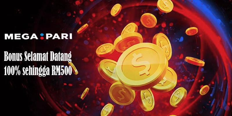 Megapari Bonus Selamat Datang