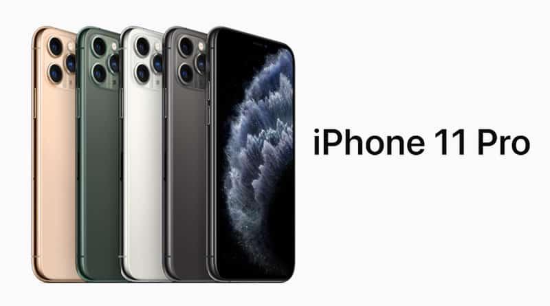 เปิดตัวอลังการ iPhone 11 Pro และ iPhone 11 Pro Max มาพร้อมสีใหม่ ในราคาเริ่มต้น 35,900 บาท