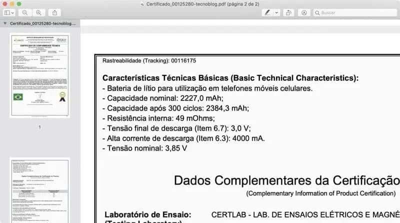 iPhone 12 baterias