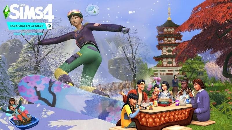 Los Sims 4 Escapada en la Nieve gratis PC/MAC