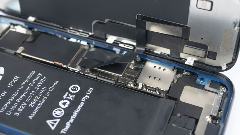 Budowa iPhone