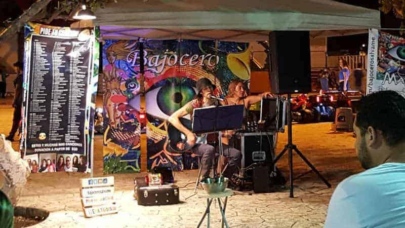 Parque Las Palapas live music