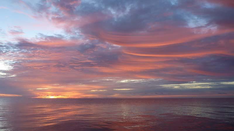 solopgang ved stevns