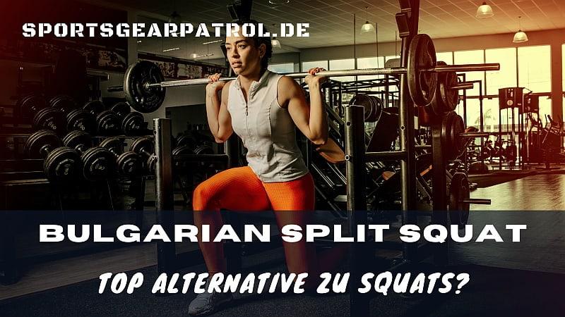 Bild Bulgarian Split Squat