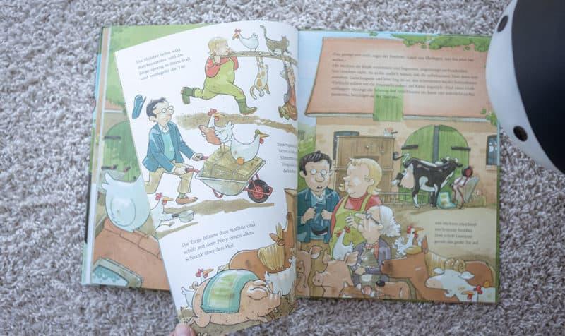Kinderbuch-Tipp: Bilderbuch Lieselotte und der verschwundene Apfelkuchen mit Musik und Hörspiel