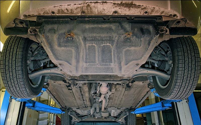 отсутствует защита двигателя
