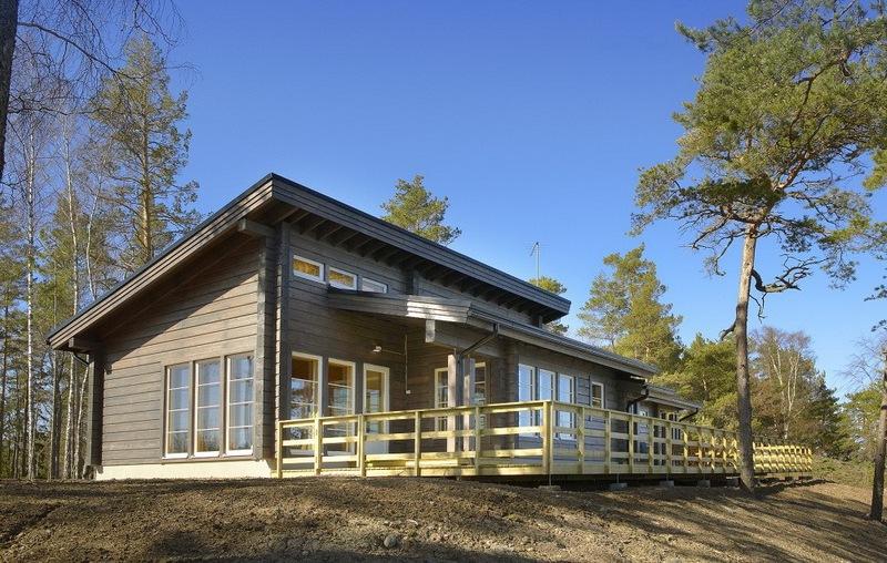 Проекты деревянных домов в нордическом стиле
