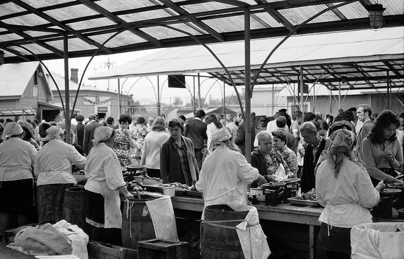 История Даниловского рынка даниловский рынок Даниловский рынок. История Danilovskiy rynok   1975