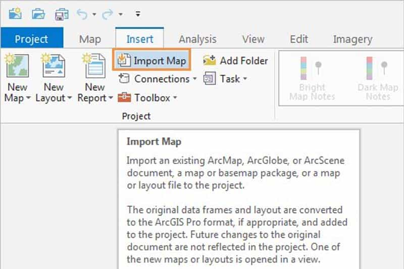 Featured image - Import a ArcMap map in ArcGIS Pro