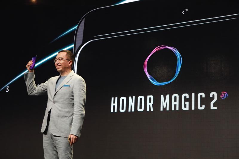 Honor představuje elegantní ikonu na veletrhu IFA 2018: Magic 2
