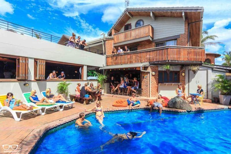 Aquarius Backpackers Byron Bay one of the best hostels in Australia