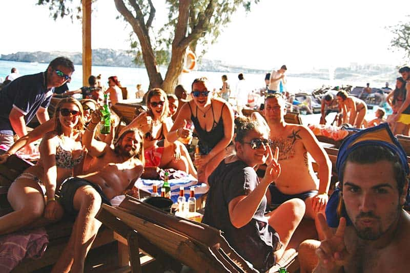 Great way to party by the pool at Paraga Beach Hostel