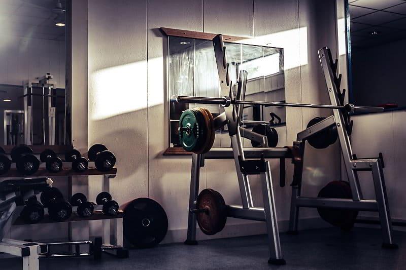 Bild Fitnessgeräte zuhause