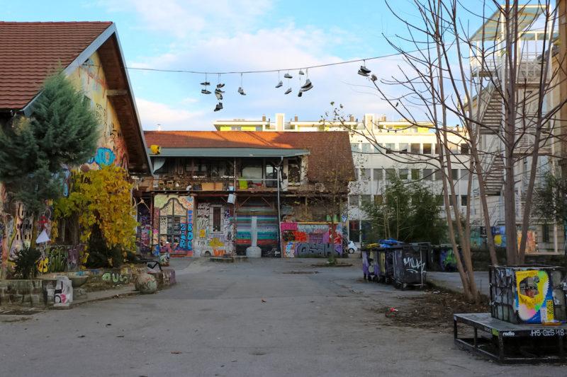 Metelkova Mesto neighborhood