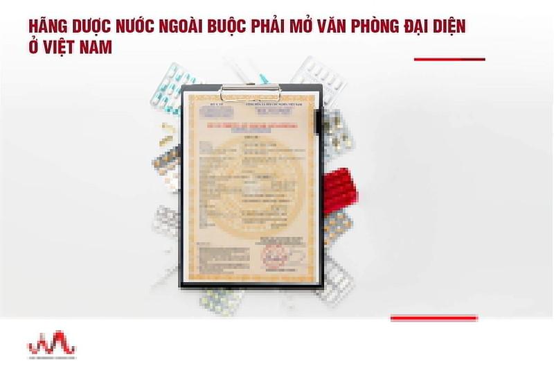 Đăng ký lưu hành thuốc cho văn phòng đại diện nước ngoài tại Việt Nam