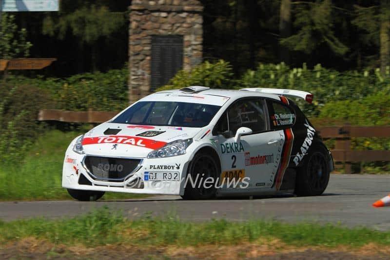 Christian Riedeman & Lara Vanneste - Rallye Sulingen 2016