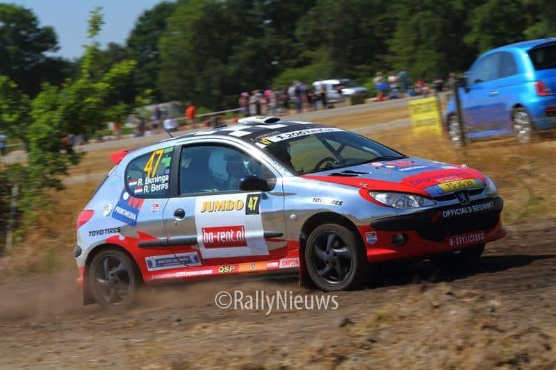 Ron Buninga & Richard Berns - Peugoet 206 - GTC Rally 2018