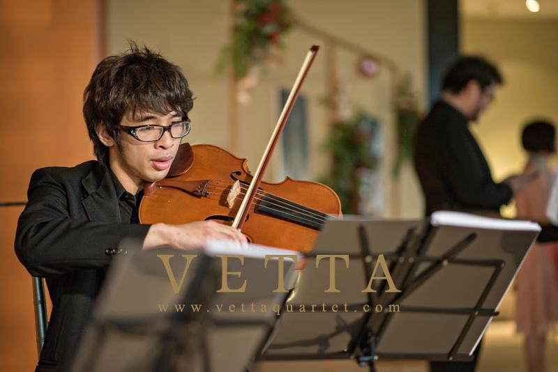 String Quartet for Wedding at Capella