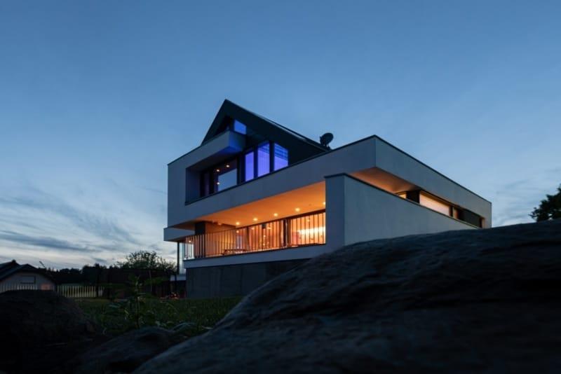 Modernes Satteldachhaus in Bad Marienburg