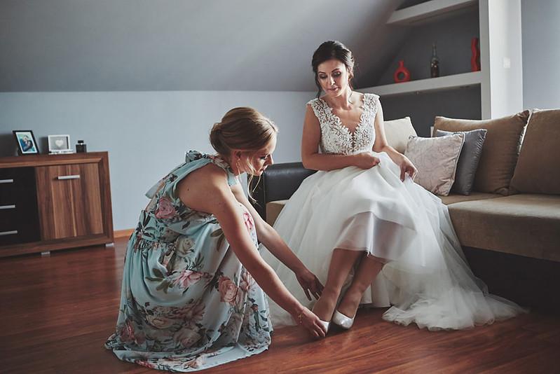 Skrót z reportażu ślubnego w Dworku Broniszówka 31