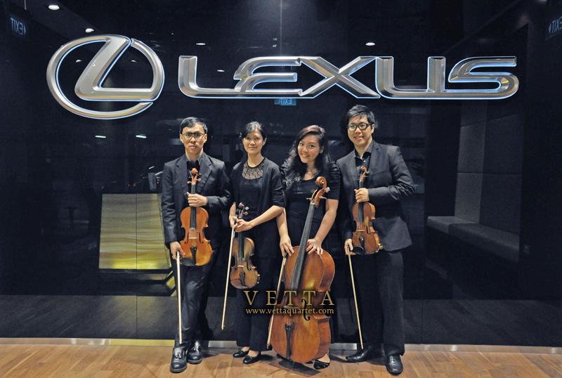 String Quartet Singapore - Lexus Event