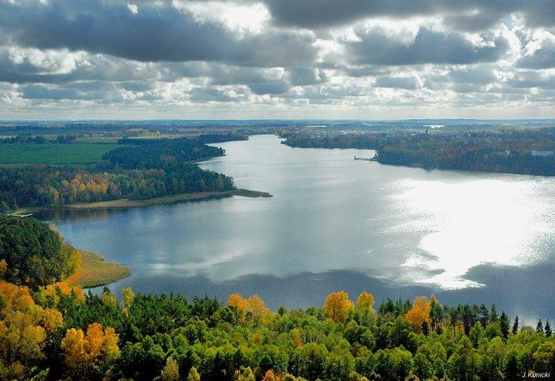 Jezioro Olecko Wielkie. Fot. J.Kunicki - Olecko. Licencja CCBY 3.0