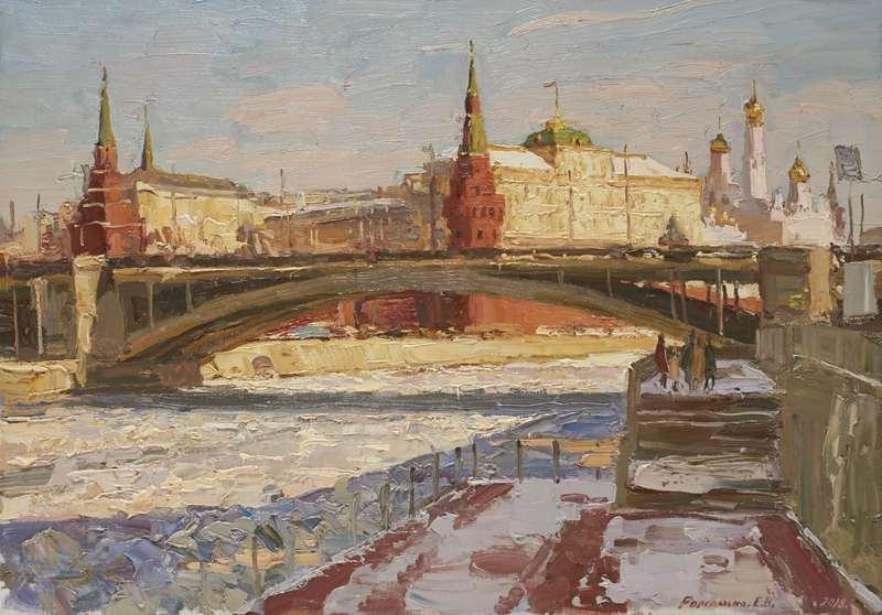 Выставка «Москва в творчестве художников»  Ретро, пейзажи и сюрреализм: бесплатное воскресенье в городских музеях 4 1