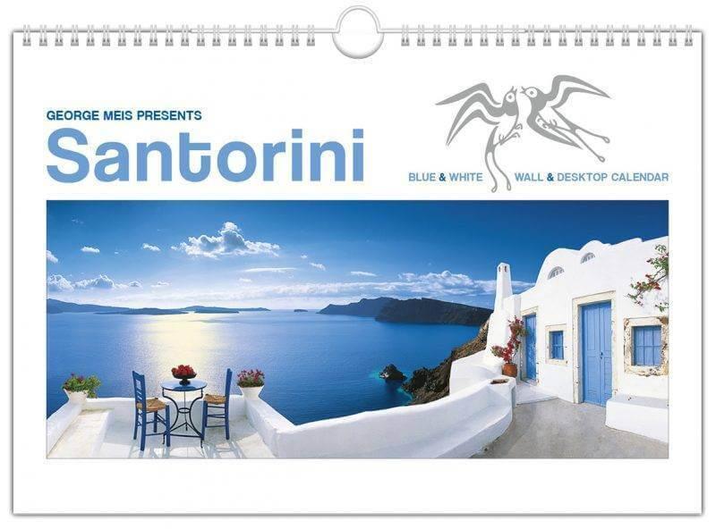 kalendarz santorini