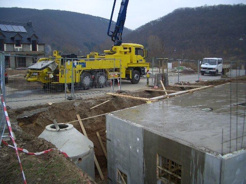 Haus mit Pool in Winningen - Bauphase 2