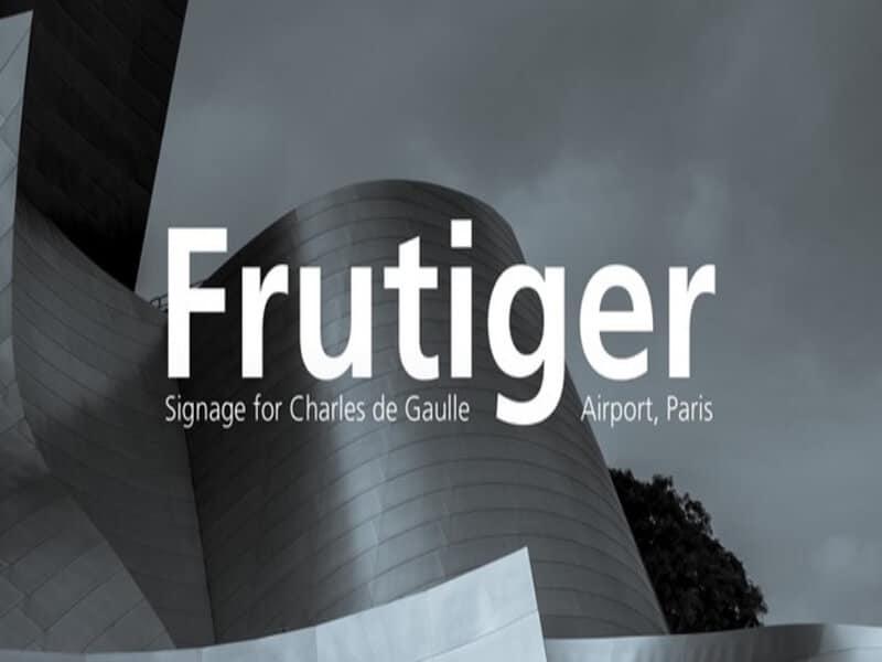 Frutiger Font Family Free Download